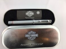 Harley Davidson fountain pen silver grey, in original packaging heavy version.   Mint Condition.