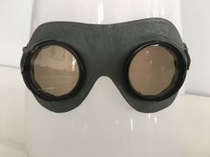 Motorcycle goggles/Aviator goggles - Third Reich Wehrmacht