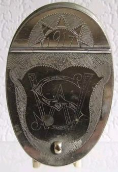 EPNS Officers snuff box
