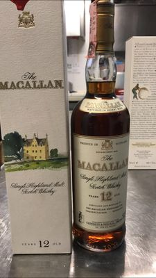 Macallan 12 years old Sherry Wood