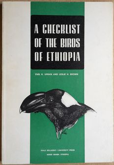 Lot with bird-checklists of 7 African countries & 18 volumes of MALIMBUS, the journal of the West-African Ornithological Society - 1971/1996