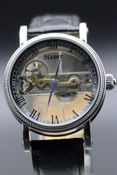 Stauer Verite skeleton automatic, men's wristwatch, never worn