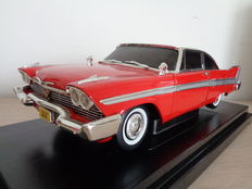 ERTL - Scale 1/18 - Plymouth Fury Christine 1958 - Red