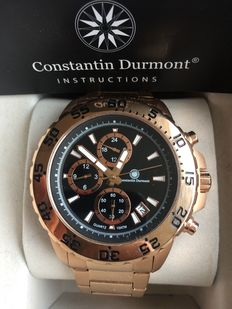 Constantin Durmont Baltimore GP Rose Black - Wristwatch
