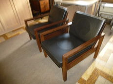Beaufort – set of 2 armchairs with a modern design