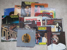 SOUL - various Artists - lot of sixteen (16) LP's soul and R&R