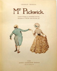Charles Dickens & Georges Duval (translation) - Mr Pickwick - (1911)