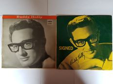 2 Very Rare Buddy Holly LPs' From Early 60's.  Both On Coral LPCM Labels.