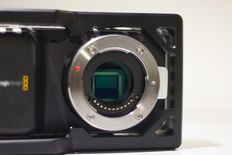 Blackmagic Pocket Cinema Camera (BMPCC) + Metabones Speedbooster (MFT naar Nikon mount)