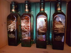 4 bottles - Johnnie Walker Taiwan wonders