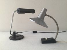Hala and unkown - Industrial design desk lamps ( 2x )