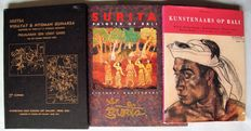 Balinese art; Lot with 3 publications - 1987/ 1996