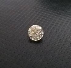 0,61 ct Round Brilliant Diamond SI2/J ***No Minimum Price***