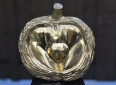 Art object; Rudolfo Bucacio - Eves Apple - 1980s/1990s