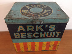 Ark's Beschuit Advertising Tin Box