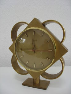 Urgos - Mid-century copper clock