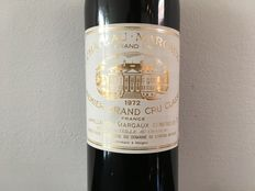 1972 Chateau Margaux, Margaux 1er Grand Cru Classé - 1 bottle 0.75L