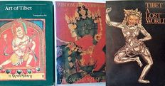 Lot with 3 books on museum collections of Tibetan art – 1978/1991