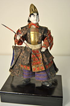 Japanese warrior - Japan - end 19th century.