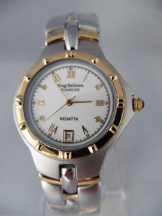 Krug Baümen Regatta Diamond – men's wristwatch – never worn