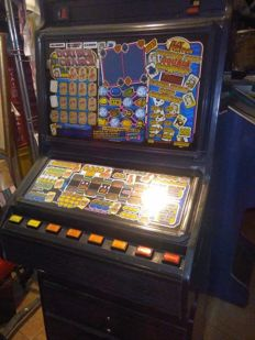 Slot machine from England