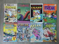 Underground Comics - o.a. Frank, Hate, The Freak Brothers, Gen of Hiroshima en Home Grown Funnies - 38x sc - (1971 / 2002)
