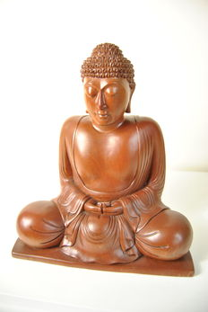 Wooden Buddha - Thailand - Late 20th century