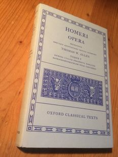 Lot with 4  on and by Homer and the Iliad and Odyssey - 1962 / 2009