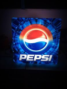 Pepsi Big rarely double sided  lightbox 89s USA- San Diego 2th half 20centaury