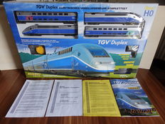 Mehano H0 - start package with TGV - train railcar
