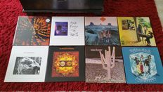 8 Prog.Rock- Psychedelic- and Bluesrock  Albums most early 70,s  made by Indian Summer / Pink Floyd / Frijid Pink / Road /Joy Division / Circus of Power and the Wizards from Kansas