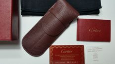 Cartier case leather