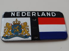 Nederland - Je maintiendrai - emaille