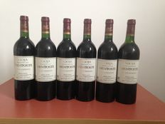 Lot of six bottles of Rioja: 6 Mentoste Gran Reserva 1991, in mint condition.