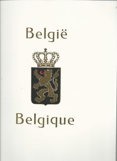 Belgium Belgium 1990/2001 – collection in Davo LX album with cassette