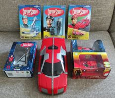 Captain Scarlet and the Mytsterions - Corgi/ Bandai/ TYCO/ Vivid -  1993/ 2005/ 2006 - 7 items