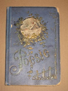 Antique poetry album from a jewish girl from Nurnberg - 1905/1907