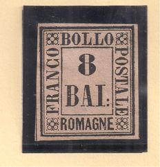 Romagne 1859 – 8 and 20 baj – Sassone 8 and 9