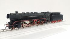 Märklin H0 - 3047 - Steam locomotive with tender BR 44 of the DB, with smoke generator and telex coupling
