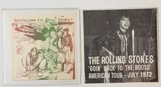 2 great Lp Albums - American Tour 1972 - Rolling Stones