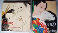 Two books a about Japanese erotic prints (Shunga) - 2010/2014.