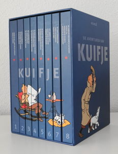 Kuifje - Complete reeks in luxe box - 8x hc - (2008)