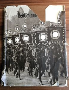 "German Reich Album ""Deutschland Erwacht"" (Germany Awakes) Kpl.1934"