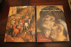 Flemish Primitives: Lot of 2 issues of Hans Memling and Robert Campin - 1994/1996