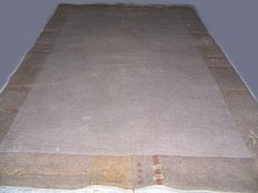 Clear thick wool carpet - Nepal - 20th century