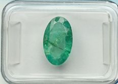 Emerald of 2.14 ct – No reserve price.
