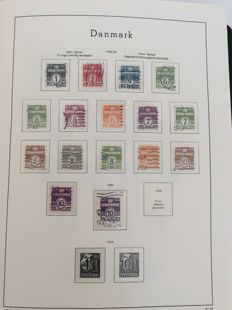 Denmark 1933/1994 - Collection of Danish stamps and minisheets