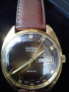 Alpina - Swiss made men's watch - from the 70's