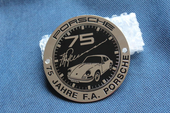 Porsche Classic Grill Badge 75 Years of Ferry Porsche