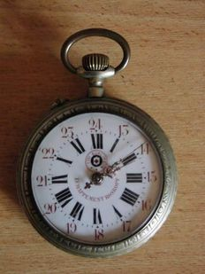 Echappement Roskopf – Pocket watch – From the early 1900s